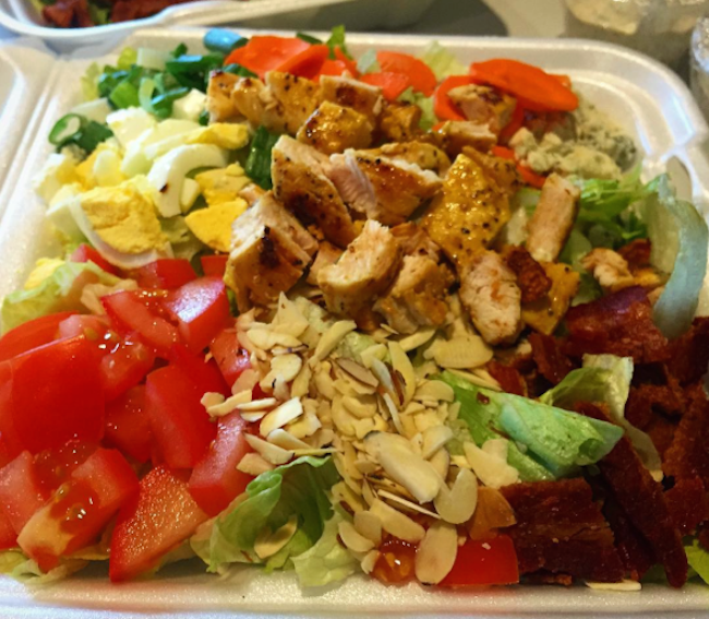 WOW Factor Salads. Made fresh daily. Available Monday - Friday for pick up or delivery!